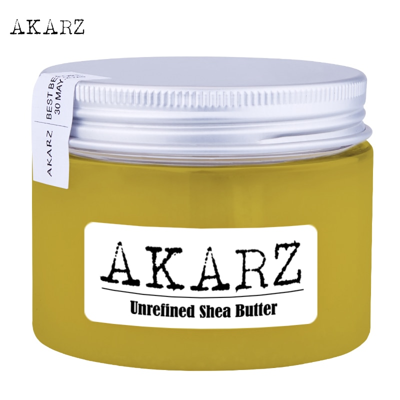 AKARZ Brand Natural Unrefined Shea Butter Cream Maternity Stretch Marks and Scar Skin Body Repair Remove Scar Care Cream